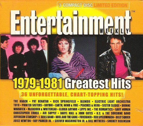 (Entertainment Weekly : 1979-1981 Greatest Hits (3-CD Set) by Various (2000-05-04))