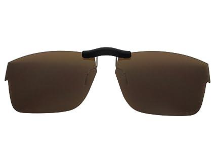 4eb8205e6de Image Unavailable. Image not available for. Color  Custom Fit Polarized CLIP-ON  Sunglasses For Oakley Splinter (54) ...