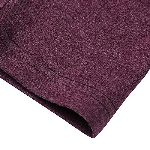 T Cardigan Patchwork Loose Purple Knitted Fashion Casual Sleeve Womens Sweater Shirt Tops Long DOLDOA Warm aqFPRwZ