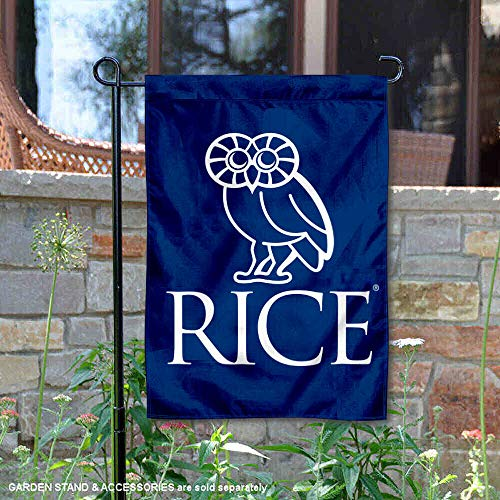 College Flags and Banners Co. Rice Owls Crest Owl Garden ()