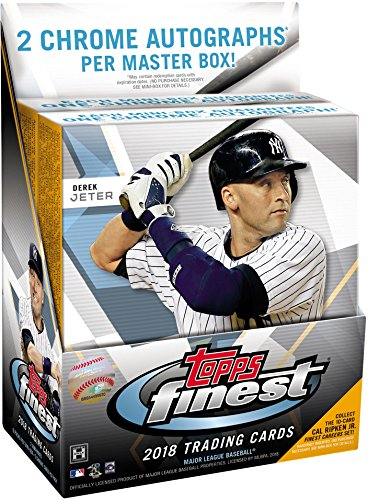 2018 Topps Finest Baseball Hobby Edition Factory Sealed 12 Pack Master Box - Baseball Wax Packs