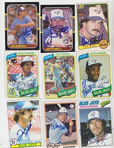 (1977 TOPPS SIGNED CARD STEVE HARGAN TORONTO BLUE JAYS INDIANS RANGERS BRAVES 37)