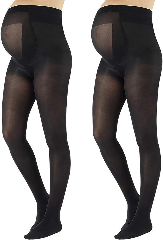 Guoshang Fashion Maternity Silky Tights Stretchy Stockings Spring Fall Thin Pantyhose Pregnancy Women