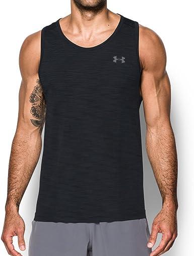 Amarillento persona que practica jogging Lío  Under Armour Ua Threadborne Seamless Tank - Camiseta sin mangas Hombre:  Amazon.es: Ropa y accesorios