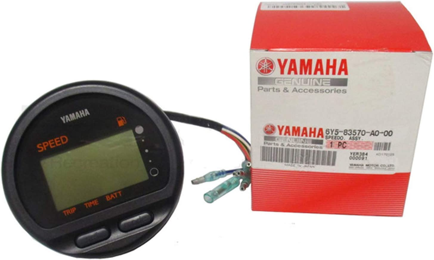Yamaha Marine New OEM Speedometer Asy, 6Y5-83570-A0-00-9