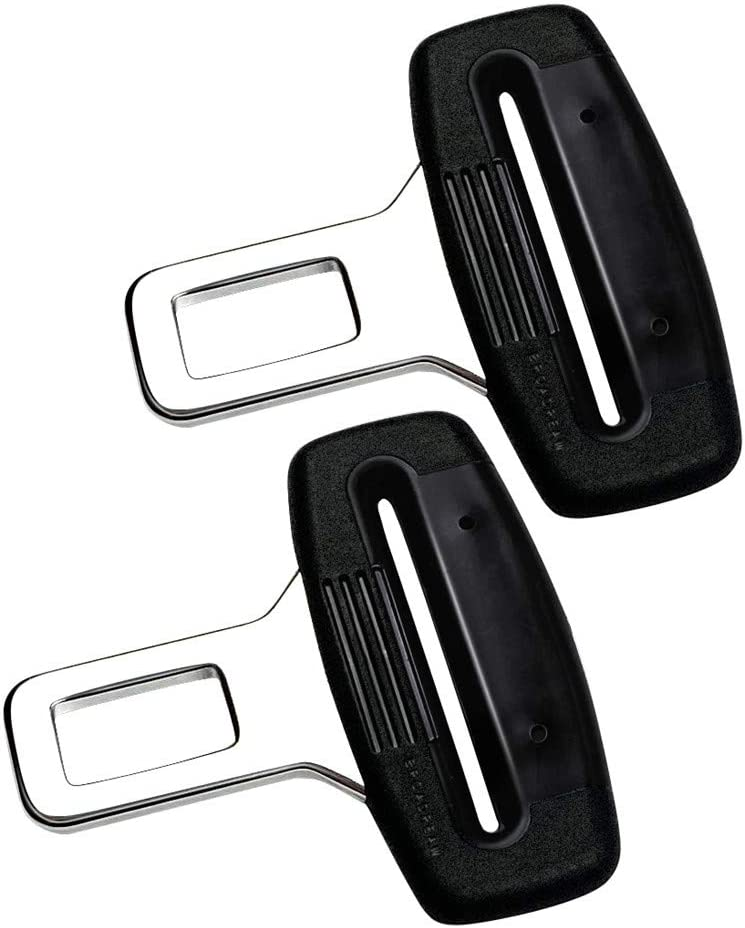 2 Packs BROADREAM Vehicle Car Buckle Clips Universal for Auto Vehicle Buckles Clip Automotive Metal Seat Buckles