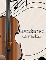 Cuaderno De Musica: Libreta De Pentagrama Pautado