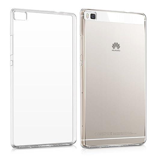 82 opinioni per kwmobile Cover per Huawei P8- Custodia in silicone TPU- Back case protezione