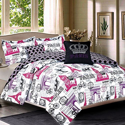 Bedding Queen 5 Piece Girls
