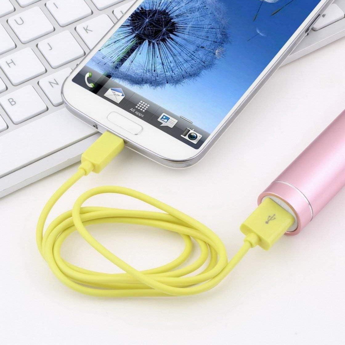 Jessicadaphne Micro-USB-Kabel 1 m langes rundes V8-USB-zu-Micro-USB-Ladedatenkabel