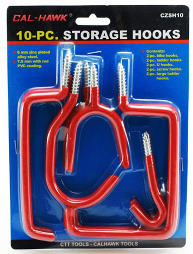 10-pc. Storage Hooks