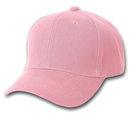 baseball caps wholesale pink plain uk made in usa china