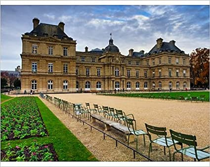 10x8 print of jardin du luxembourg paris france europe 12076012 - Jardin Du Luxembourg Paris