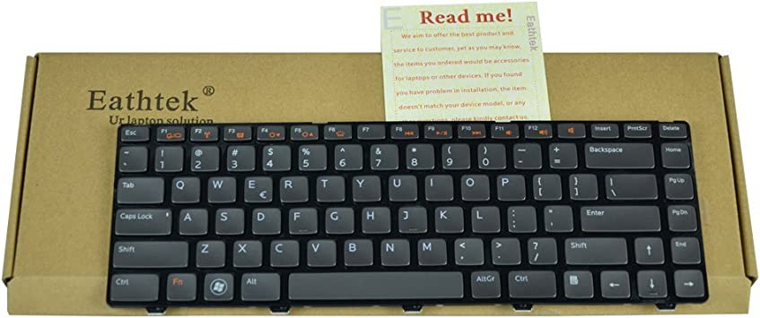 US Keyboard for Dell Inspiron 14R N4110 XPS L502 L502X 3520 3450 3420