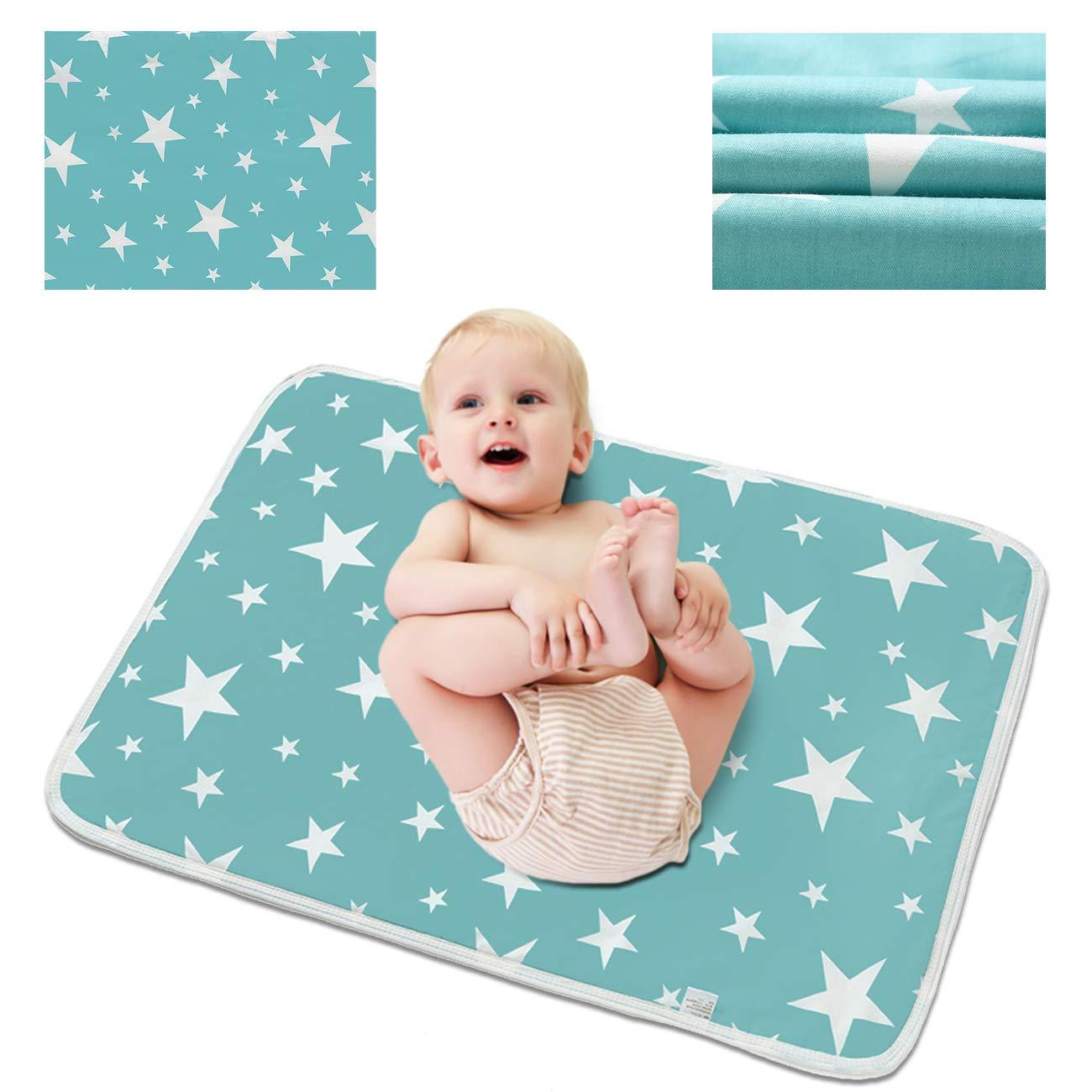 Waterproof Changing mat Star Changing Pad Star Changing mat Baby Changing mat Travel Changing mat