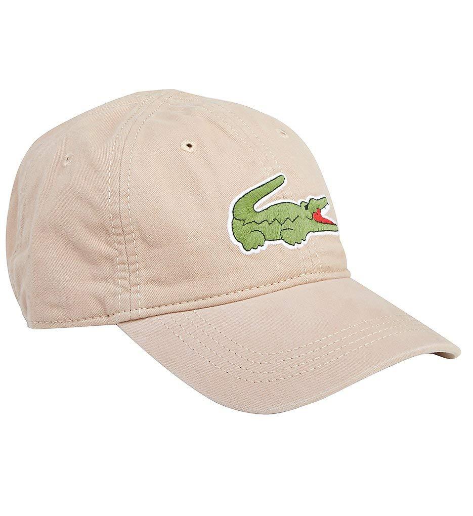 064791f24a3153 Galleon - Lacoste Men s Classic Large Croc Gabardine Cap
