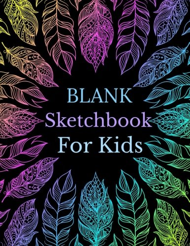 Blank Sketchbook for Kids (Jumbo Size Doodle Book for Children **8 x 11**) (Volume 82) Creative Learning Tools