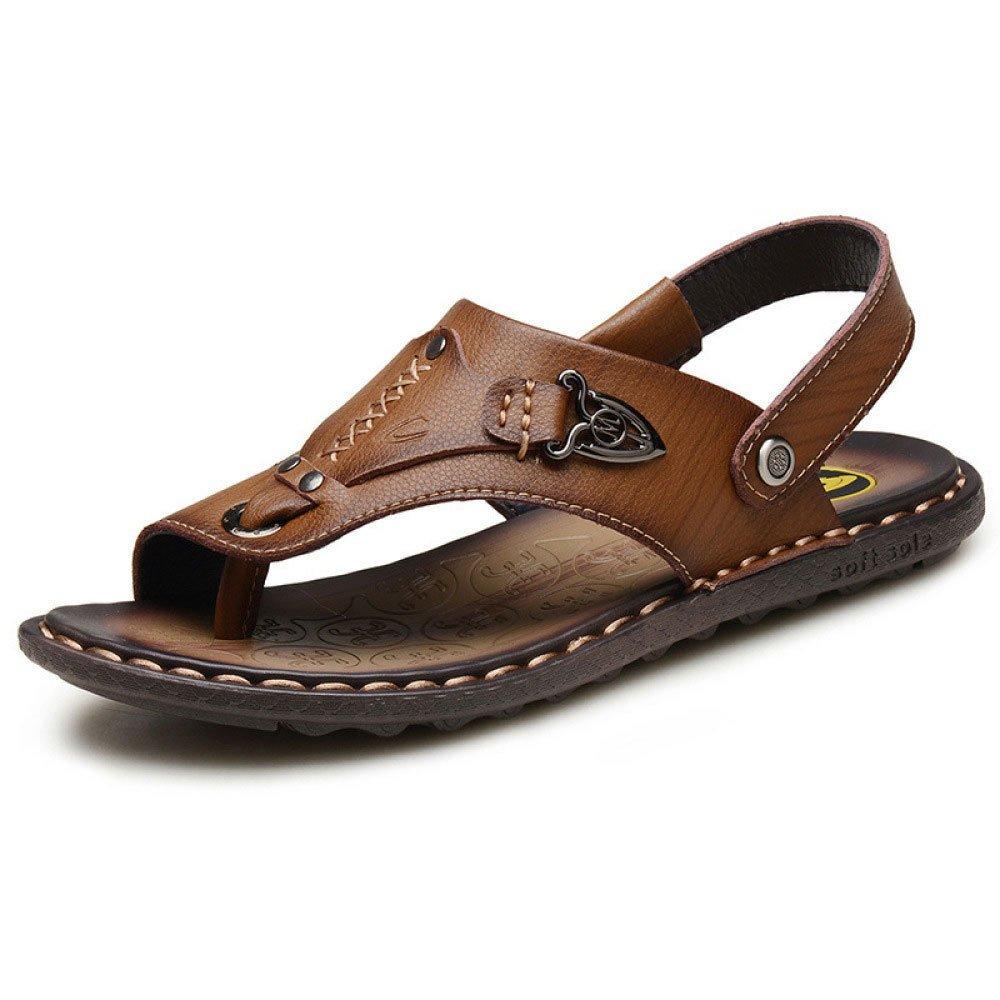 Sandalias para Hombres Zapatillas De Playa Transpirables Y Resistentes Al Agua Sandalias Y Pantuflas 41 EU Brown