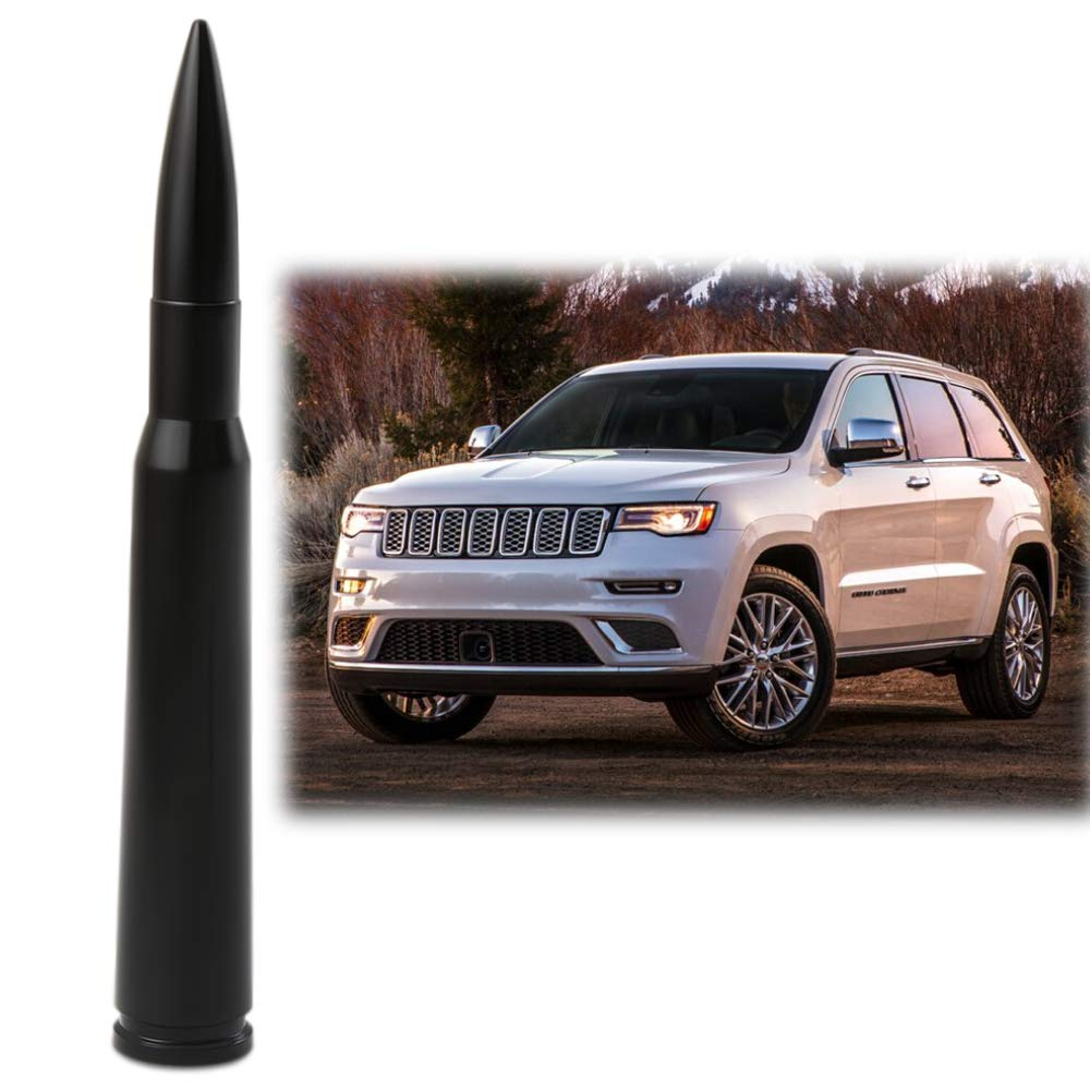Bullet Antenna Style Fit Jeep Grand Cherokee Short Replacement Antenna 2011-2019 Accessories Thie2e