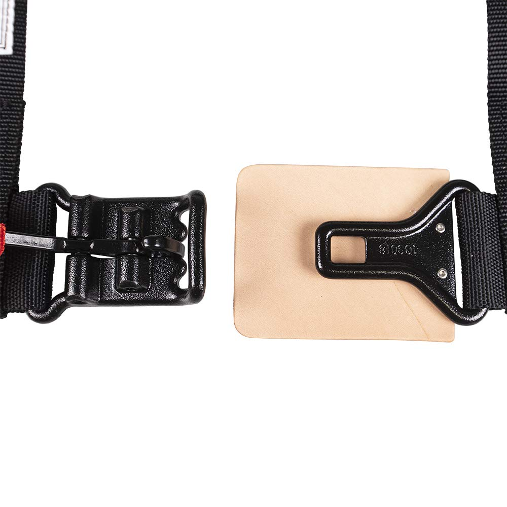 Pro Armor A114220 P151100 Black 4-Point Harness 2 Inch Straps, 4 Pack RZR UTV Seat Lap Belt with Bypass Clip by Pro Armor (Image #4)