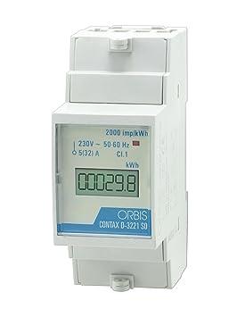 Orbis Contax D-3221 SO medidor Digital de Consumo energético Contador, OB703100: Amazon.es: Bricolaje y herramientas