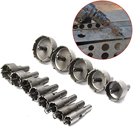 16mm Carbide Tip Alloy Metal Stainless Steel Drill Bit Hole Saw Iron Steel