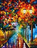 Burst of Colors is a Limited Edition print from the Edition of 400. The artwork is a hand-embellished, signed and numbered Giclee on Unstretched Canvas by Leonid Afremov. Embellishment on each of these pieces will be slightly different, but the image...