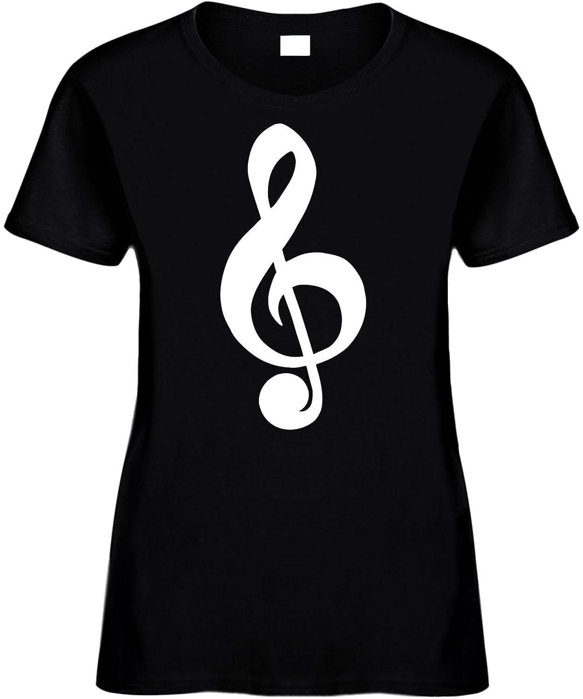 amazon com women cotton novelty funny music note print t shirt