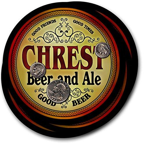 Chrest Beer & Ale - 4 pack Drink Coasters