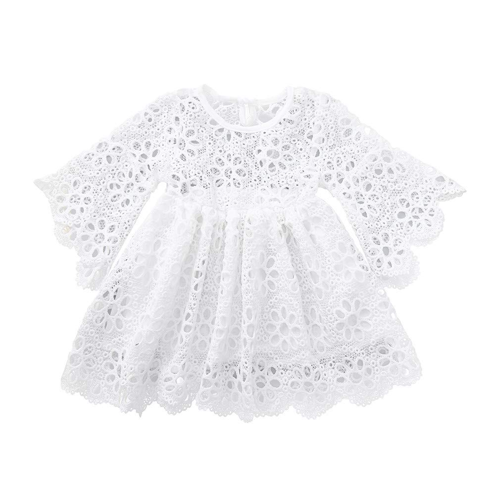 Lurryly❤Mom&Me Baby Girls Kids Lace Match Daughter Family Dress Clothes Dresses 1-4T