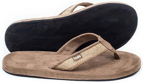 Men's burlap sandals