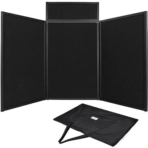 Portable Exhibition Folding Display : Tabletop folding exhibition display board large panel header