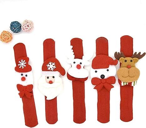 Adornos navideños Juguetes para niños Navidad Pulsera Navidad Pop ...