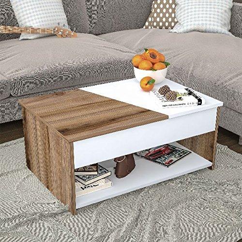 Bravo Home Center Table (Walnut)