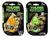 Zing Thumb Chucks Orange and Green 2-Pack Bundle