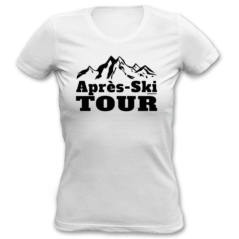 Ideales T-Shirt für Apres SKI --- APRES SKI TOUR !! --- Top zum Feiern ! von Goodman Design