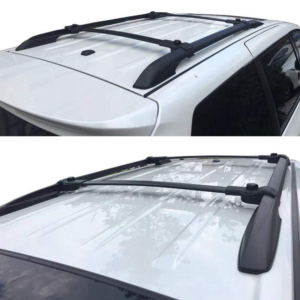 Yeeoy Aluminium Crossbar Cross Bar Baggage Luggage Racks Roof Racks Rail Bar Fit 2011-2017 Toyota Sienna
