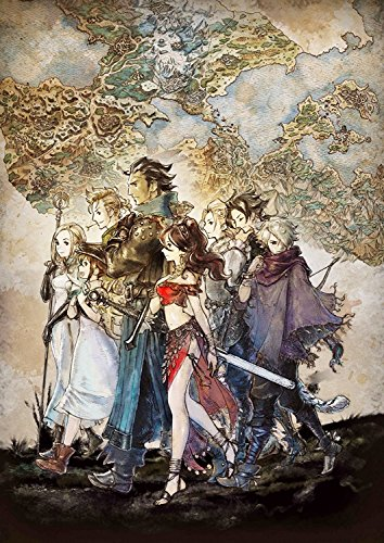Price comparison product image Octopath Traveler Poster