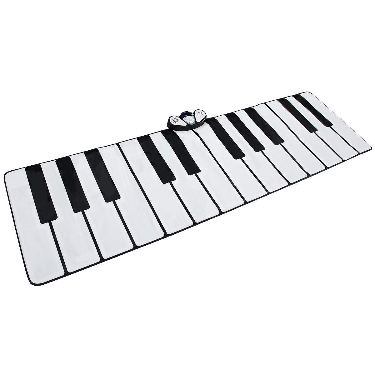 FDInspiration 24-Key Kids Keyboard Dance Gigantic Piano Playmat w/ Cable with Ebook