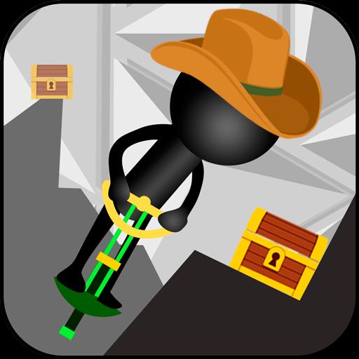 Stickman Pogo Stick Jumper Crash Test: Bouncing Ninja Reaction: Amazon.es: Appstore para Android