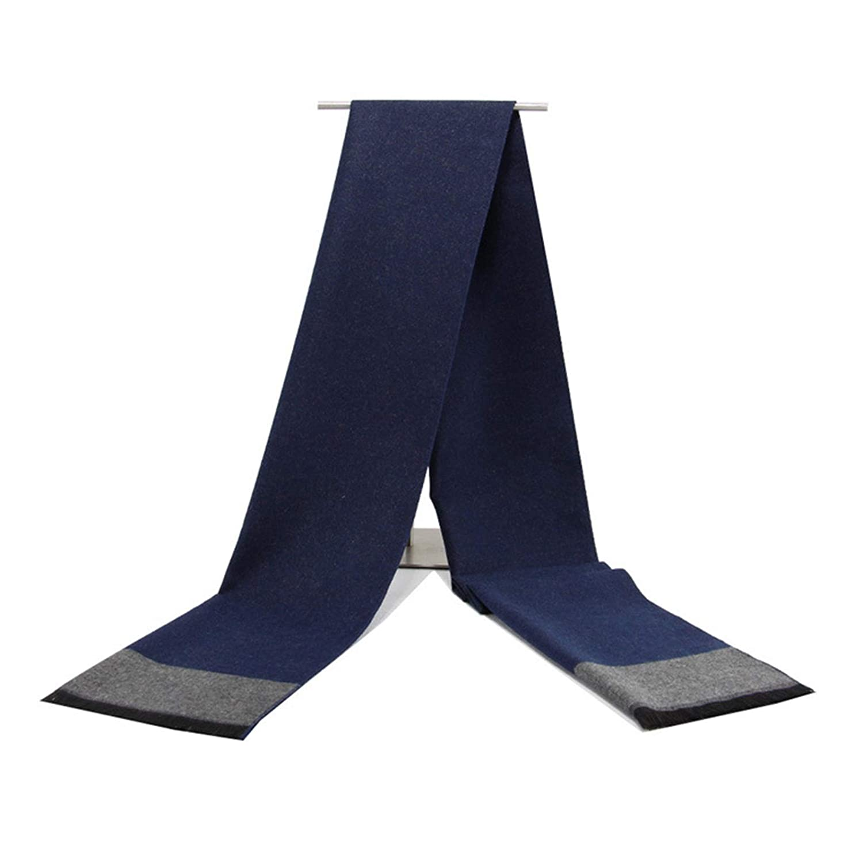 Cozy Soft Cotton Unicolor Scarf for Men Gnzoe Mens Scarf Winter Warm 72 x 12 inch