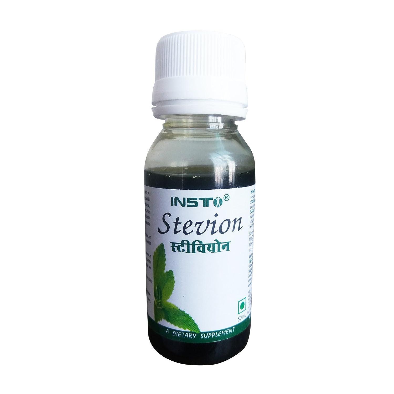 Buy Insto Stevion Natural Sweetner - 50ml Online at Low Prices in