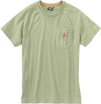 Carhartt Force Cotton Delmont Camiseta de Manga Corta para Hombre