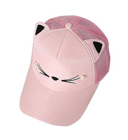 Amazon.com   Gentle Meow Cat Caps Fashion Caps Ladies Baseball Caps ... 61f1c069858