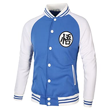 COCO clothing Beisbol Chaqueta Hombre Cazadoras College Casual Jacket Patchwork Sudaderas Juvenil Abrigos Sport (azul
