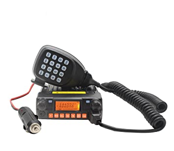 QYT KT8900 Mini Mobile Radio Transceiver 136-174//400-480 With Programming Cable