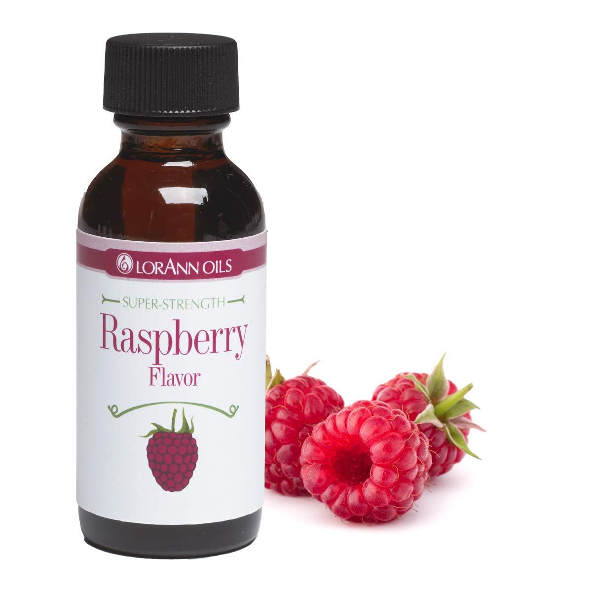 LorAnn Raspberry Super Strength Flavor, 1 ounce bottle