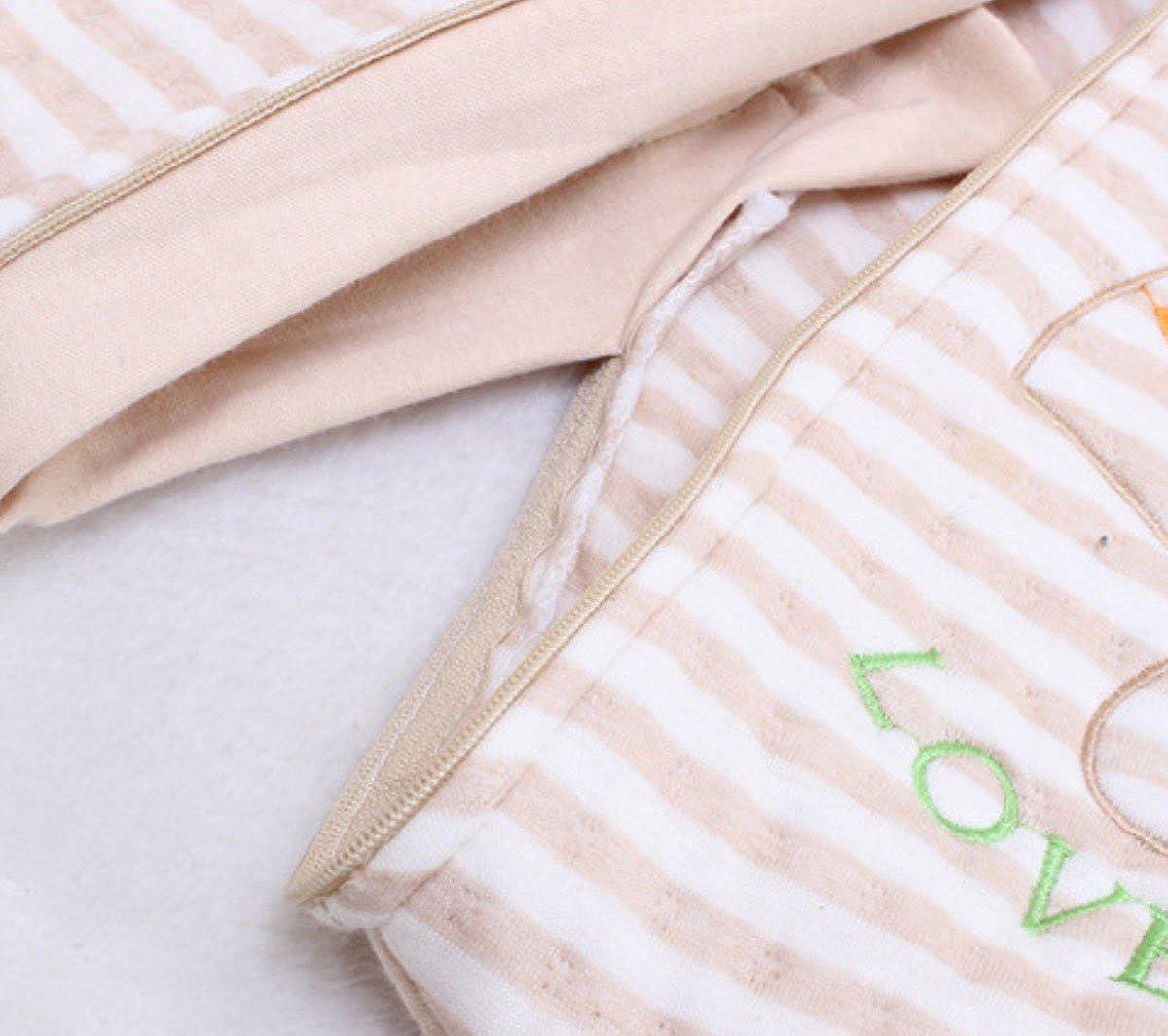 Happy Cherry Beb/é Saco de Dormir con Piernas Separables Sleepwear Mangas Algod/ón para Beb/é 0-4 A/ños Primavera Oto/ño Invierno