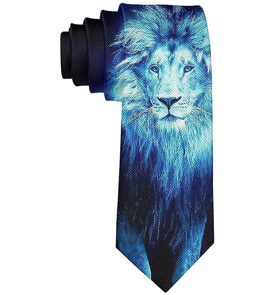 Warm Night Corbata de hombre Corbatas de moda Corbata de arte azul ...