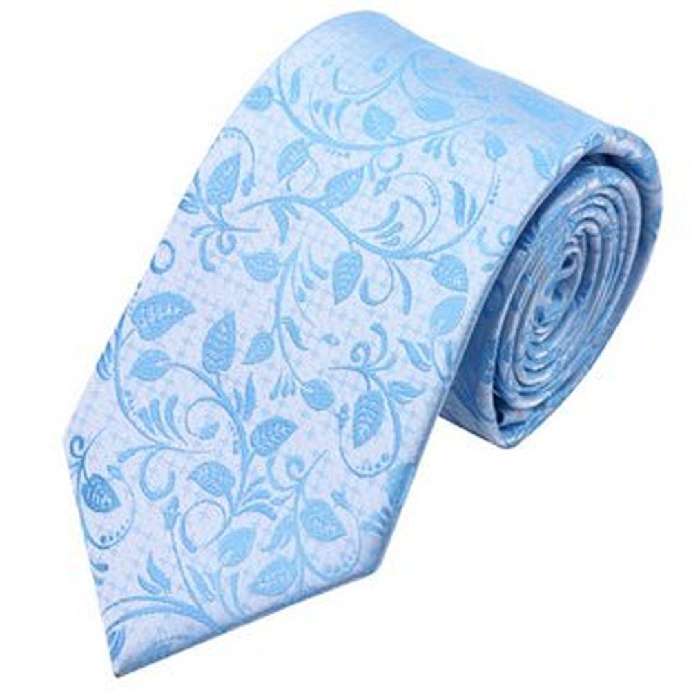 Jason&Vogue - Corbata - Cuadrados - para hombre azul azul celeste ...